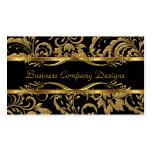 Mirada grabada en relieve damasco con clase elegan plantillas de tarjeta de negocio