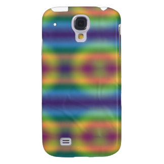 Mirada iPhone3G de Tiedye del arco iris