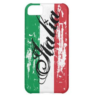 Mirada italiana apenada del Grunge del caso el | d Funda Para iPhone 5C