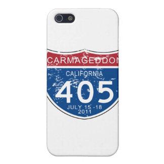 Mirada llevada Carmageddon del VINTAGE iPhone 5 Cárcasas