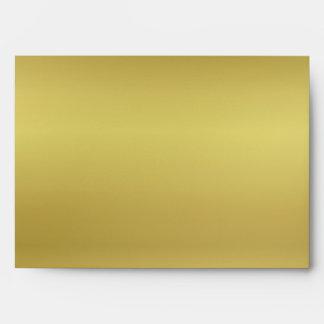 Mirada metálica del oro sobre