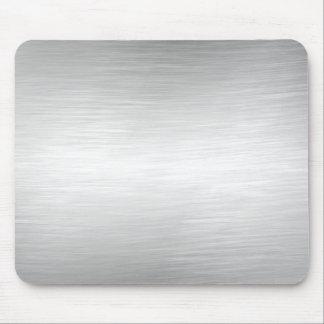 Mirada Mousepad del metal del cepillo Alfombrilla De Ratones