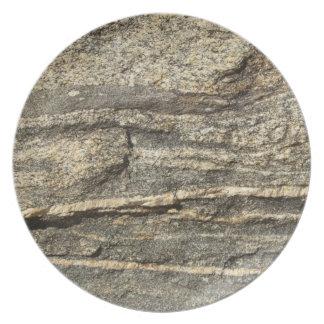 Mirada naturalmente fresca de Surfaces_Granite Plato De Comida