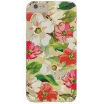 Mirada pintada floral funda de iPhone 6 plus barely there