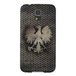 Mirada polaca del estilo del metal de Eagle Carcasas De Galaxy S5