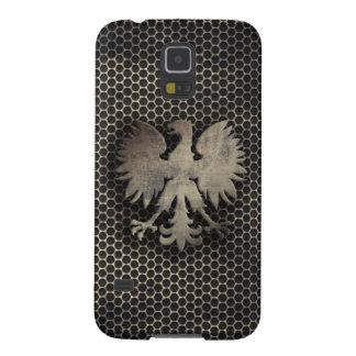 Mirada polaca del estilo del metal de Eagle Funda Para Galaxy S5