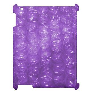 Mirada púrpura del plástico de burbujas de la nove