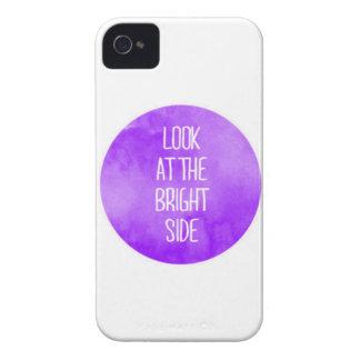 Mirada púrpura en el caso del iPhone 4/4s de la iPhone 4 Carcasas
