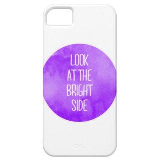 Mirada púrpura en el caso del iPhone 5 de la parte iPhone 5 Carcasas