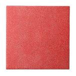 Mirada roja coralina de Ultrasuede