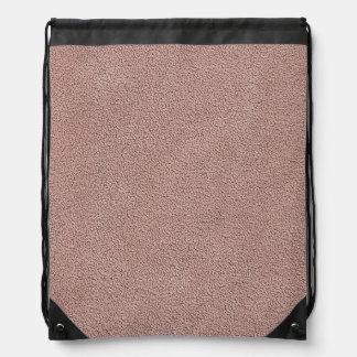 Mirada rosada de color de malva de Ultrasuede Mochilas