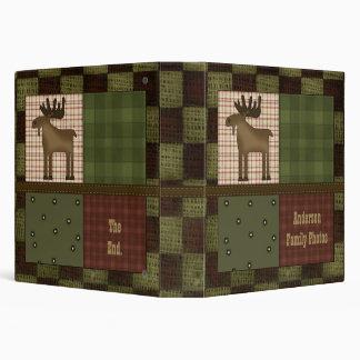 Mirada rústica de la casa de campo con la familia carpeta 3,8 cm