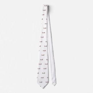 Mirada sospechada corbatas