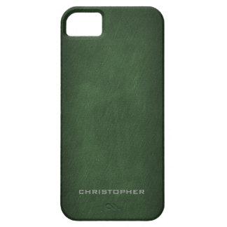 Mirada texturizada con diseño de hombres exclusivo iPhone 5 cárcasas