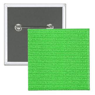 Mirada verde de la malla de la armadura pin cuadrado