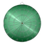Mirada verde metálica del metal del acero inoxidab tabla dardos