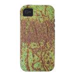 Mirada verde oxidada Case-Mate iPhone 4 carcasa