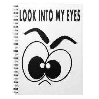 MIRADA whimscial del cuaderno EN MIS OJOS