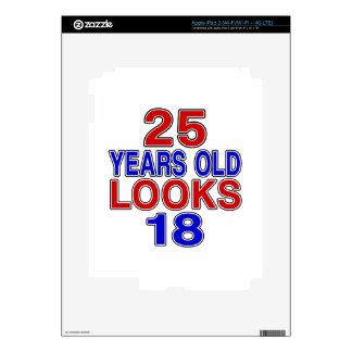 Miradas 18 de 25 años pegatina skin para iPad 3