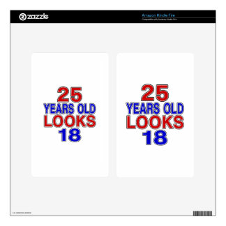 Miradas 18 de 25 años skins para kindle fire