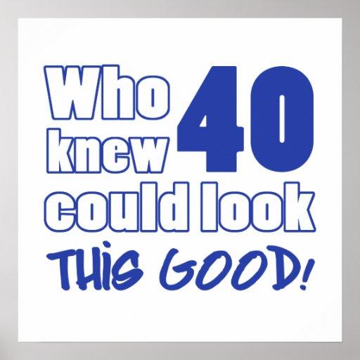 Miradas de 40 años buenas impresiones