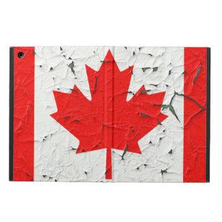 Miradas rojas canadienses de la pintura de la