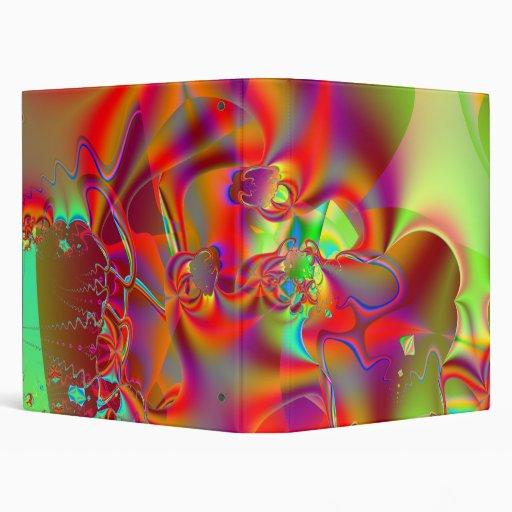 """Mirador I · Arte del fractal · Rojo y verde Carpeta 1"""""""