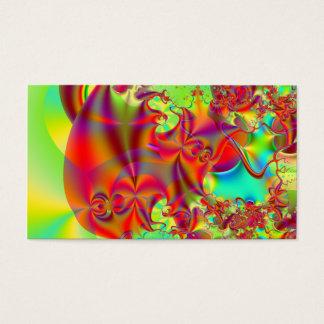 Mirador II · Fractal Art · Red & Green Business Card