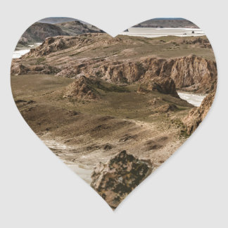 Miradores de Darwin, Santa Cruz Argentina Heart Sticker
