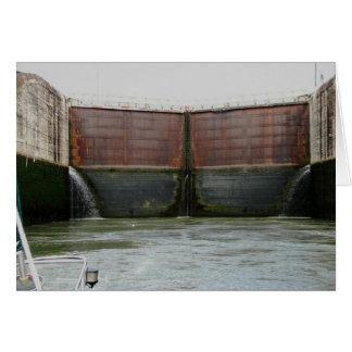 Miraflores Locks, Panama Canal Card