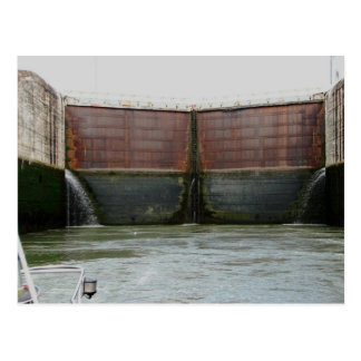 Miraflores Locks, Panama Canal Postcard