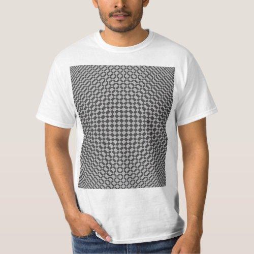 âMirageâ  Harbor Mist Silver on Beluga Gray  T_Shirt