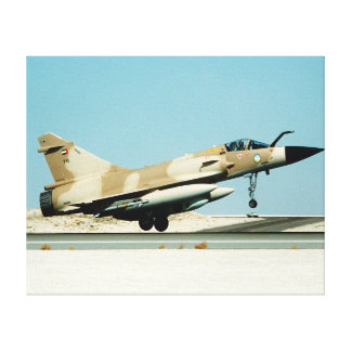 Mirage Jet Fighter Canvas Print