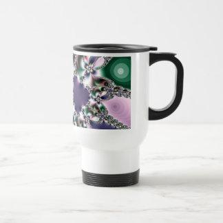 Mirage of Insanity Fractal Art Travel Mug