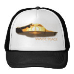 Mirage  Peace Sunset, WAGE PEACE Trucker Hat