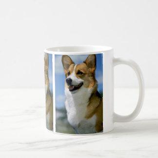 "Mirage,"""""""" Welsh Corgi Coffee Mug"