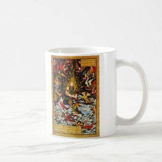 Miraj Muhammad's Ascent by Sultan Muhammad Classic White Coffee Mug