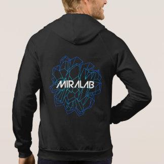 Miralab Men s Hoodie - blue logo version