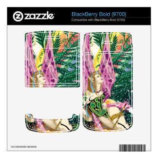 Miranda Close-Up BlackBerry Bold 9700 Vinyl Skin Decal For BlackBerry
