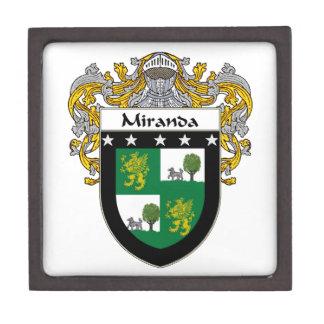 Miranda Coat of Arms/Family Crest Jewelry Box
