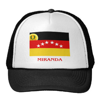 Miranda Flag with Name Trucker Hat
