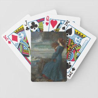 Miranda la tempestad barajas de cartas