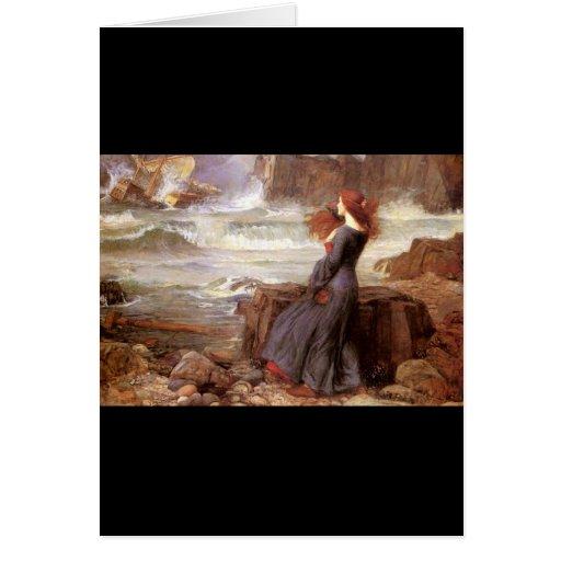 Miranda - la tempestad tarjeta de felicitación