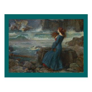 Miranda (la tempestad) postales