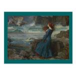 Miranda (la tempestad) tarjetas postales