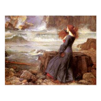 Miranda - la tempestad tarjetas postales