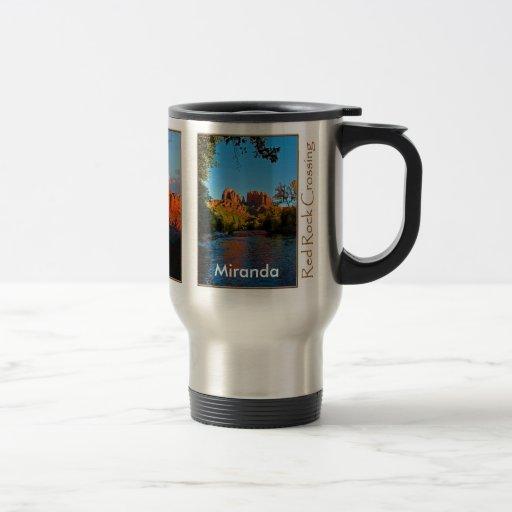 Miranda on Red Rock Crossing Mug