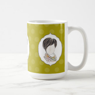 Miranda - portrait of a woman coffee mug
