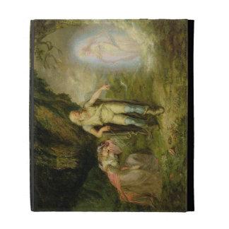 Miranda, Prospero and Ariel, from 'The Tempest' by iPad Folio Cover
