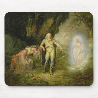 Miranda, Prospero and Ariel, from 'The Tempest' by Mouse Pad